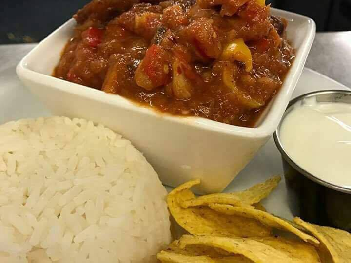 Veggie Chilli The Feathers Inn Lichfield